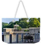 The Waterworks Wheelbarrow - Philadelphia Weekender Tote Bag