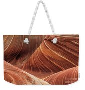The Wave Into The Fold Weekender Tote Bag