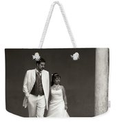 The Wedding Couple Weekender Tote Bag