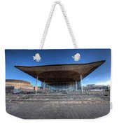 The Welsh Assembly Building 2 Weekender Tote Bag
