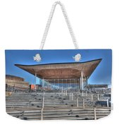 The Welsh Assembly Building Weekender Tote Bag