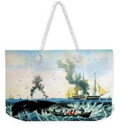 The Whale Fishery, 19th Century Weekender Tote Bag