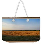 The Wheat Is In Weekender Tote Bag