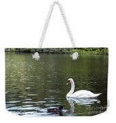 The White Swan Weekender Tote Bag
