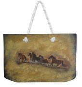The Wild And Free Ones Weekender Tote Bag