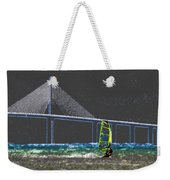 The Wind Surfer Weekender Tote Bag by David Lee Thompson