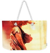 The Winged Victory  Weekender Tote Bag by Marianna Mills