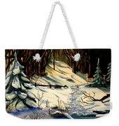 The Winter Trail Weekender Tote Bag
