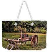The Wooden Cart Weekender Tote Bag