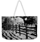 The Wooden Fence Weekender Tote Bag