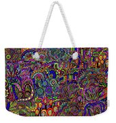 The World Largest Migraine Artwork Weekender Tote Bag