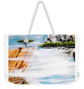 The World On A Platter  Weekender Tote Bag