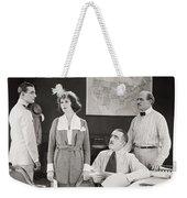 The Yelllow Typhoon, 1920 Weekender Tote Bag