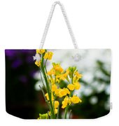 The Yellow Delight Weekender Tote Bag