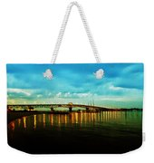 The York River Weekender Tote Bag by Bill Cannon