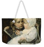 The Young Artist Weekender Tote Bag by Ellen Kendall Baker