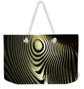 The Zebra Weekender Tote Bag