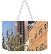 Theater District And City Flowers Weekender Tote Bag