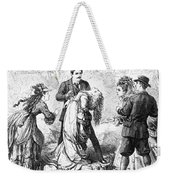 Theater: False Shame, 1872 Weekender Tote Bag