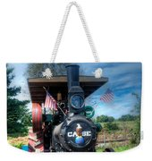 Then End Of The Day For The Case Weekender Tote Bag