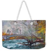 ....then The Rain Started Weekender Tote Bag