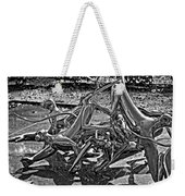 Then The Trouble Started Monochrome Weekender Tote Bag