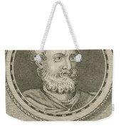 Theophrastus, Ancient Greek Polymath Weekender Tote Bag by Science Source