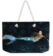 There Is A Mermaid In The Pool Weekender Tote Bag