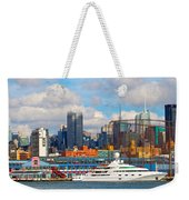 There's My Yacht Weekender Tote Bag