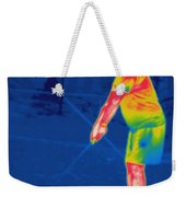 Thermogram Of A Golfer Weekender Tote Bag