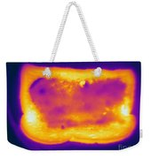 Thermogram Of A Hot Toast Weekender Tote Bag
