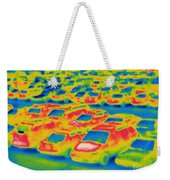 Thermogram Of A Parking Lot Weekender Tote Bag