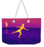 Thermogram Of A Skater Weekender Tote Bag