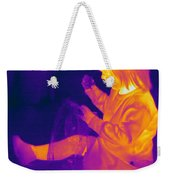 Thermogram Of A Young Girl Weekender Tote Bag