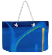 Thermogram Of Hot Water And A Faucet Weekender Tote Bag