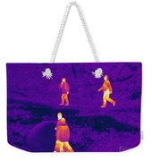 Thermogram Of People Walking Weekender Tote Bag