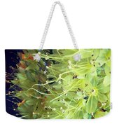 These Flowers Were On Their Way Out Weekender Tote Bag by Katie Cupcakes