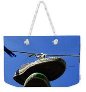 These Old Things Blue Weekender Tote Bag
