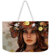 They Call Her Autumn Weekender Tote Bag