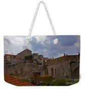 They Walk The Wall In Dubrovnik Weekender Tote Bag