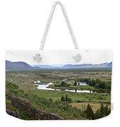 Thingvellir Valley Weekender Tote Bag