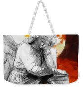 Thinking About Autumn Weekender Tote Bag