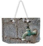 Thirsty Weekender Tote Bag by Stelios Kleanthous