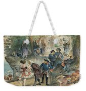 This Business Is Removed To Sheol Weekender Tote Bag