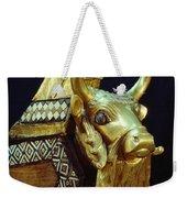 This Gilded Bull Originates Weekender Tote Bag