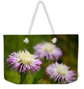 Thistle Illusion Weekender Tote Bag