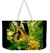 Thoas Swallowtail #1 Weekender Tote Bag