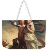 Thomas John Clavering And Catherine Mary Clavering Weekender Tote Bag by George Romney