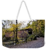 Thomas Mill Covered Bridge Over The Wissahickon Weekender Tote Bag
