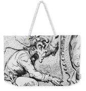 Thomas Paine Caricature Weekender Tote Bag